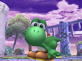 Yoshi's in a good mood. by theyoshifanboy
