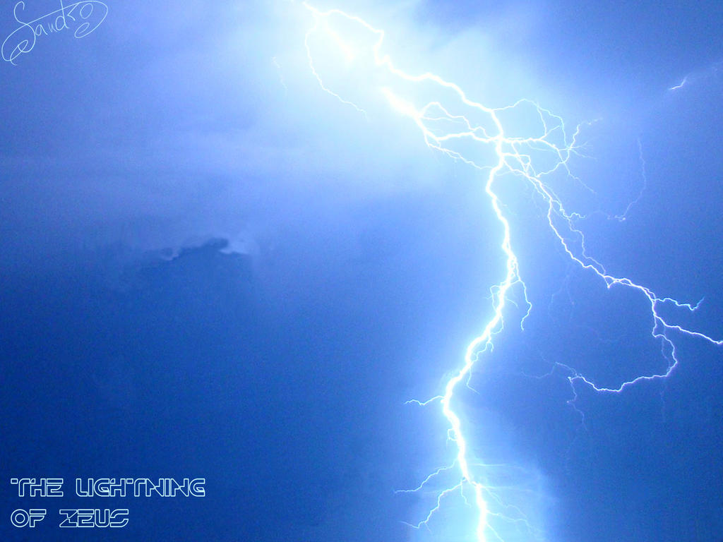The lightning of ZEUS by Sandro by Dactari