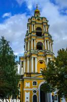 Novospassky Monastery by Dactari