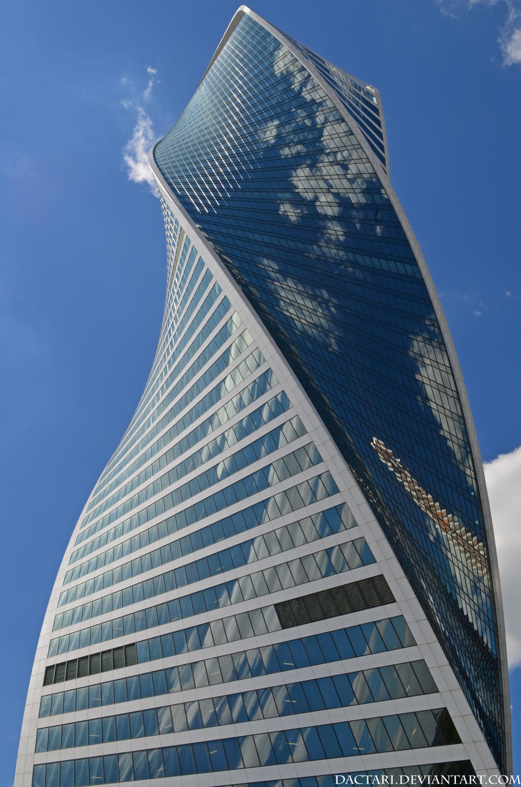 Evolution tower by Dactari