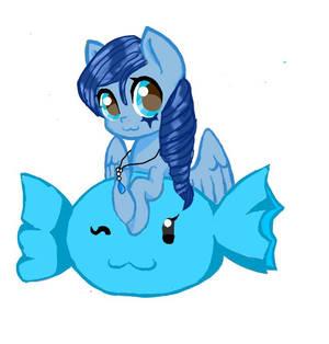 Cute Aqua Star