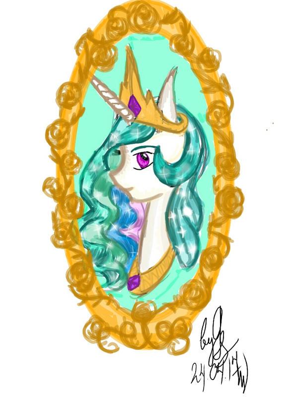 [Equestria Royalty]Princess Celestia by GalaxySultan