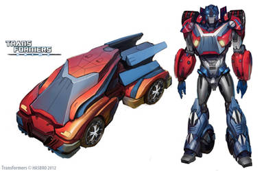 Transformers Prime - Orion Pax Concept Art by 4894938