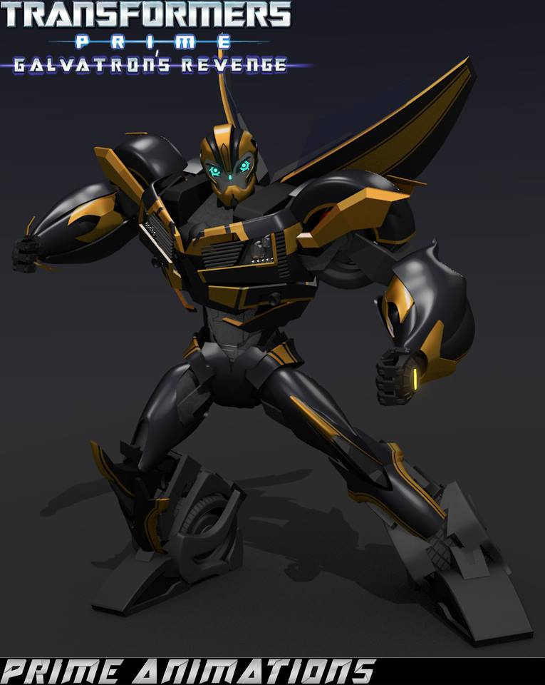 Transformers Prime Bumblebee - Robot Mode by 4894938 on ...