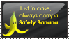 [STAMP] Safety Banana by Emfen