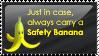 [STAMP] Safety Banana by Emfen