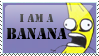 [STAMP] I AM A BANANA by Emfen