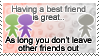 [STAMP] Best Friends by Emfen