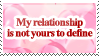 [STAMP] Relationship by Emfen