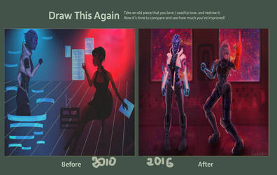 Draw This Again: Mass Effect by ReVercetti