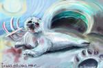 It was delicious bear...baby seal revenge by ReVercetti