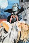 Dracula and victim
