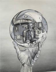 Escher globe