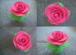 Rose Play-doh