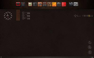 Leather_simple_minimal_desktop by asterix707