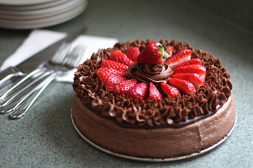 chocolate cake by tracylopez