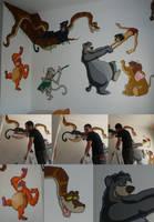 Jungle Book Mural by Fonzu