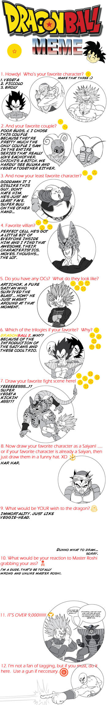 Dragonball meme by Fonzu