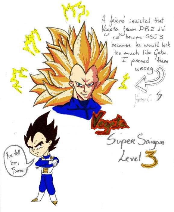 Vegeta Super Saiyan 3 by Fonzu on DeviantArt