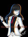 Darkiplier cosplay [HAPPY HALLOWEEN]