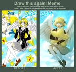 Draw this again Meme - Wish upon a star