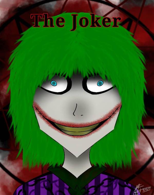 The Joker (My version) by Darkbeauty565