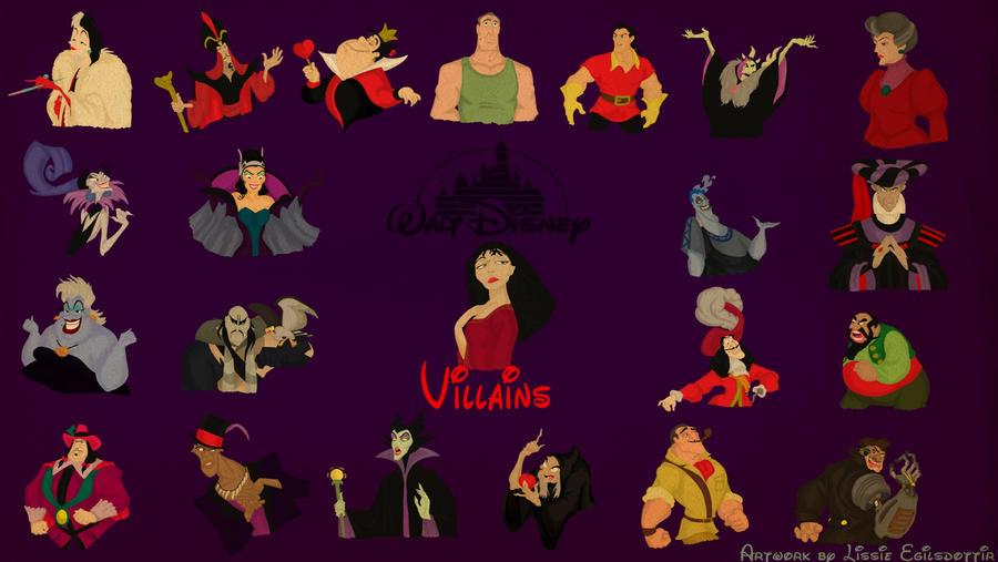 Disney Villains Wallpaper By Panda Ai On Deviantart