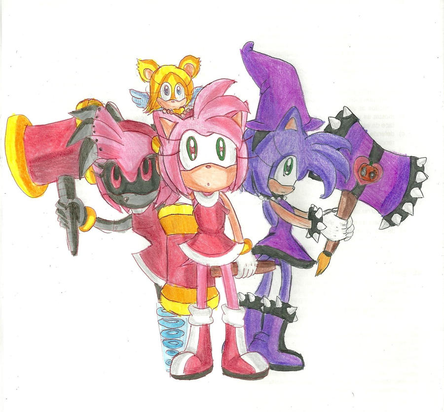 Amy Metal Amy And Dark Amy By RachelGilber On DeviantArt