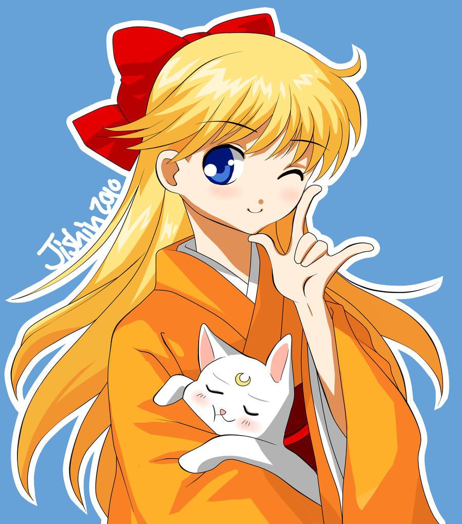 Sailor Venus by Jishin