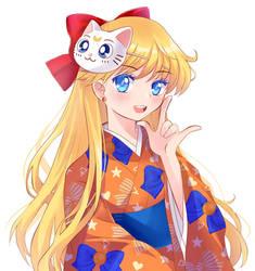 Sailor Venus Kimono