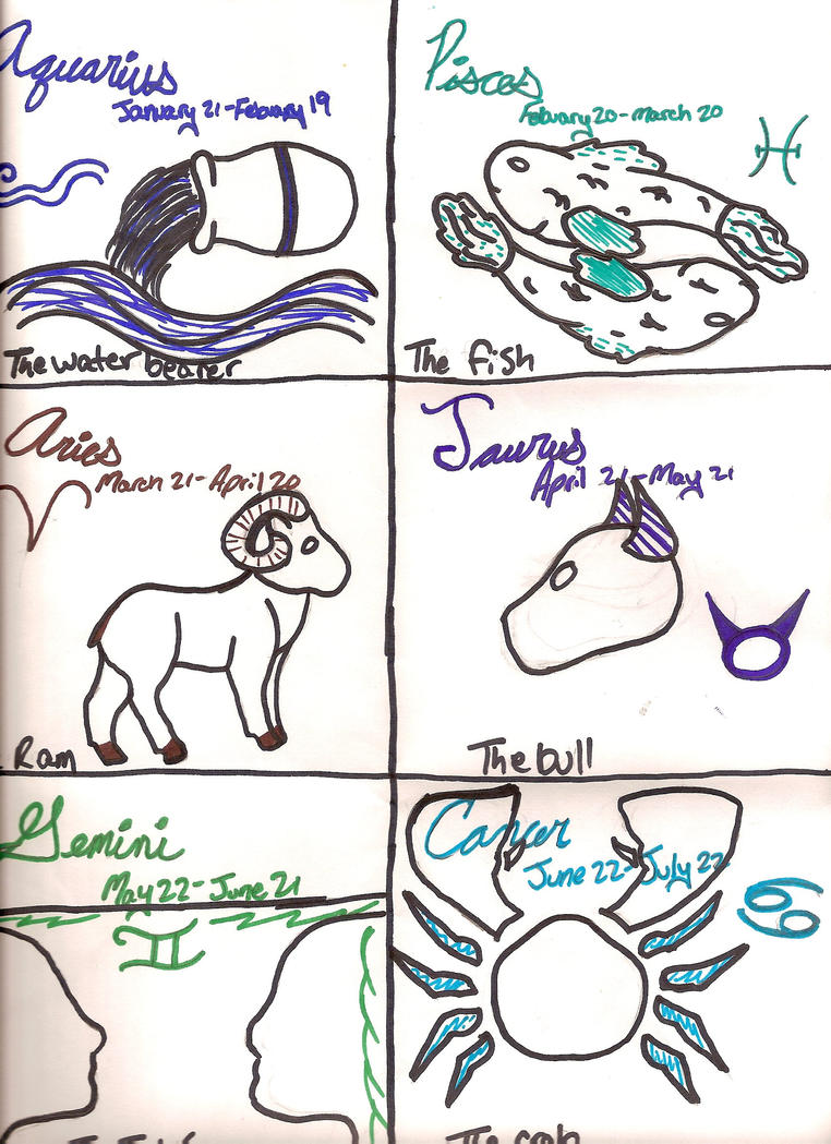 Zodiac symbols aquarius cancer by forever lillee on deviantart zodiac symbols aquarius cancer by forever lillee biocorpaavc Image collections