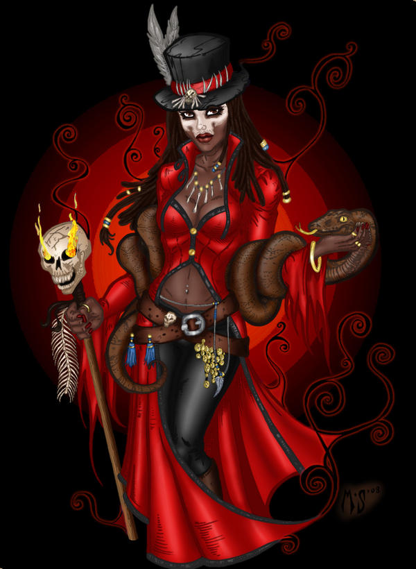 The Art of Conrad Javier |Voodoo Queen Art