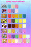 Candy Inspired Color Palettes