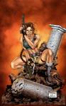 Lara Croft - Colored