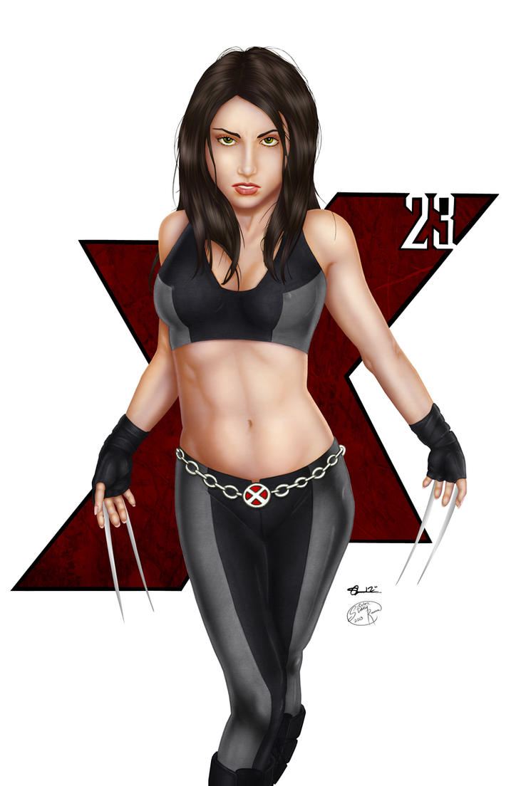 Comishart's X-23 - Colors by TracyWong