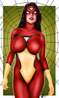 Comishart's Spider-Woman - Colors