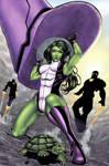 Harpokrates' She-Hulk - Colors