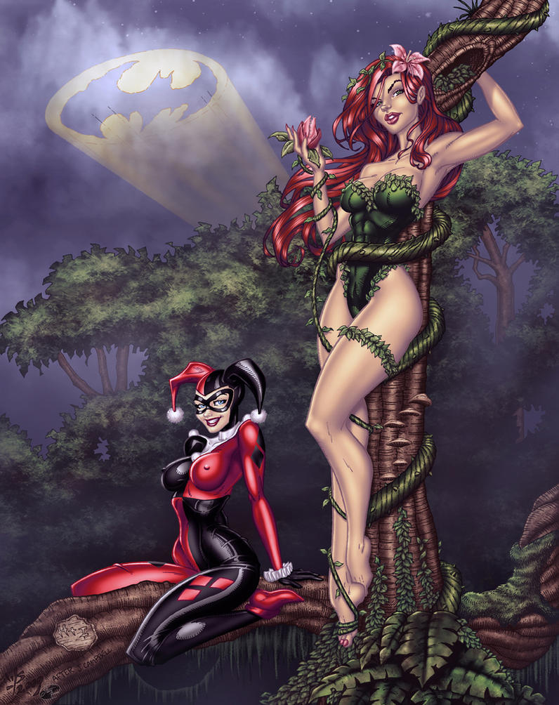 Walter J. Schoenleber's Harley/Ivy - Colors by TracyWong