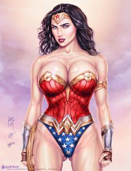 Armando Huerta's Wonder Woman - Colors