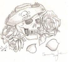 __.. Pirate Tattoo by Wolfs-Blood