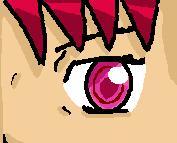 Akane's eye by Bluecharizardbc