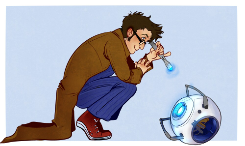 Ten and Wheatley by radiohamlet