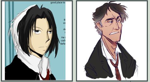 Character Progress: Dorian by radiohamlet
