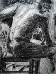 david in his chair by arieljadrien