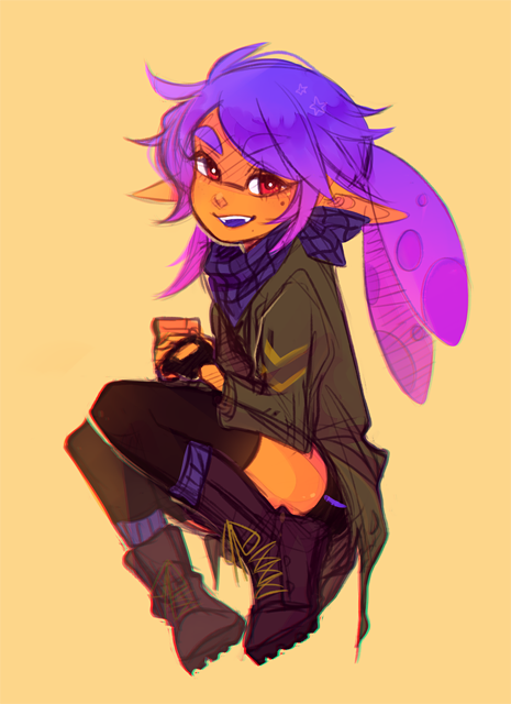 Splatoon Oc Petra By Homoda On Deviantart