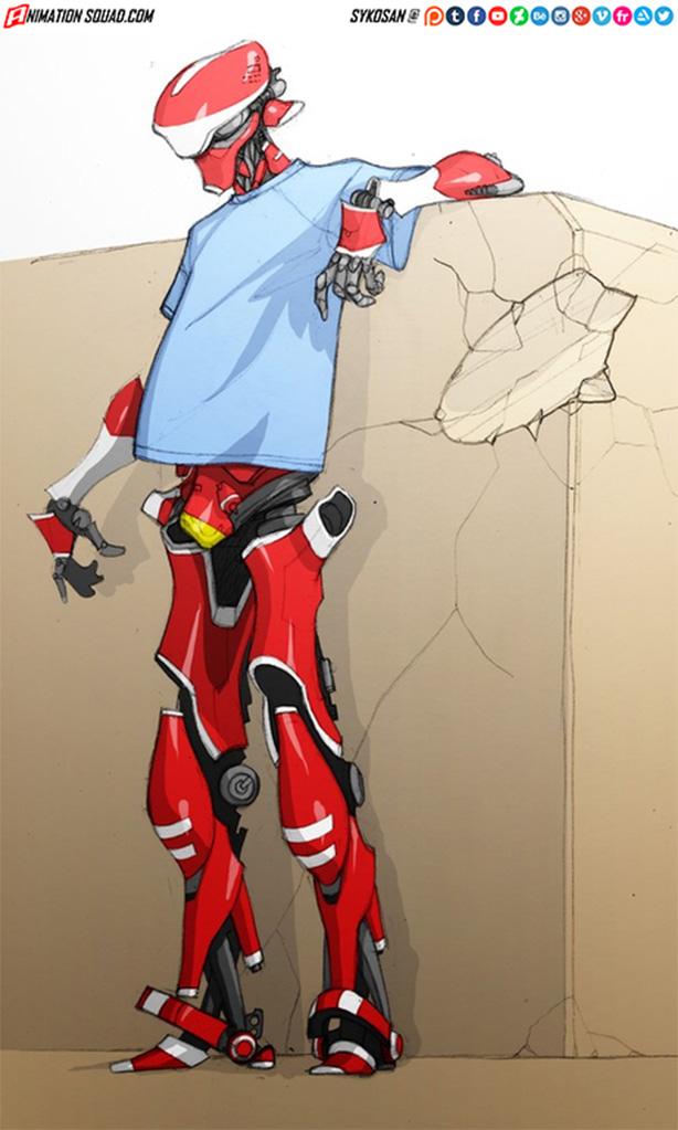 Cool Robot by sykosan
