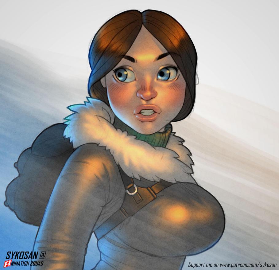 Lara croft by sykosan