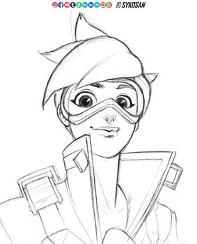 Tracer from Overwatch