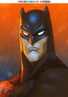 Batman by sykosan
