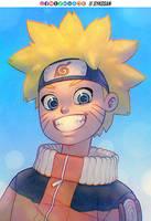 Naruto Uzamaki by sykosan